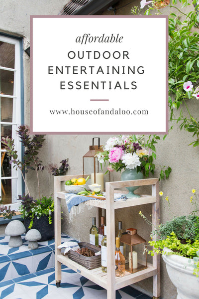 5 Affordable Outdoor Entertaining Essentials That Need This Summer