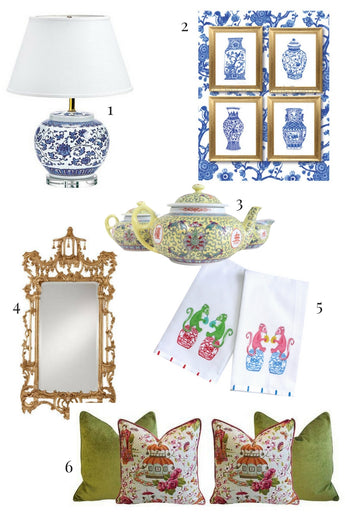 Chinoiserie Decorating Ideas