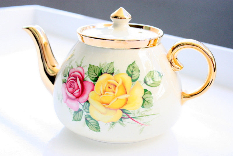 The Perfect English Rose Teapot