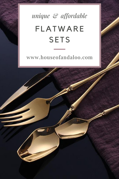 Unique & Affordable Flatware and Silverware Sets
