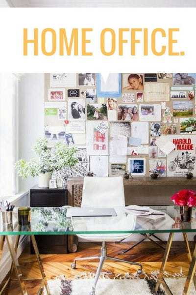 4 Tips For Home Office Decorating