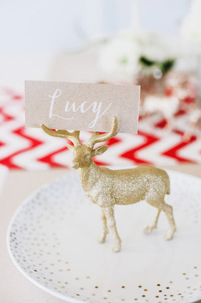 9 Easy DIY Holiday Place Cards