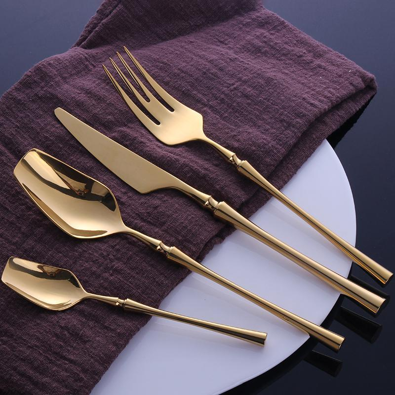 kitchen-flatware-utensils/products/kitchen-dining-serveware-24-pcs-gold-toned-spindle-flatware-set