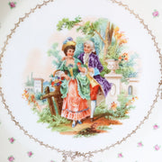 "13"" Round Serving Platter by Schumann Bavaria c. 1920s"