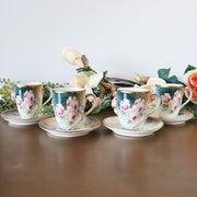 Antique Victorian Hand Painted Chocolate Pot Set, Erdmann Schlegelmilch Prussia