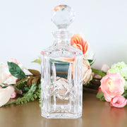 Bourbon Decanter Crystal