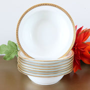 1910s Elite Works Rim Cereal Bowls by Bawo and Dotter Limoges
