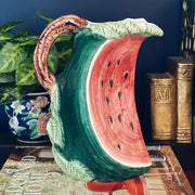 Hand Made Italian Watermelon Pitcher