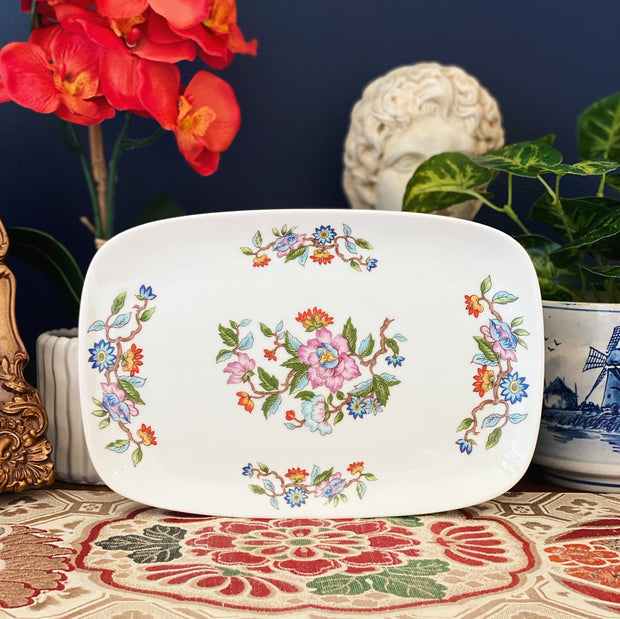 Japanese Floral Sandwich Plate