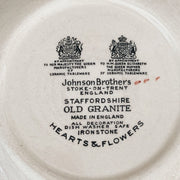 Staffordhire Covered Casserole Hearts and Flowers