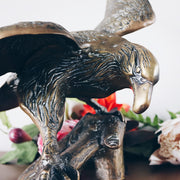 Large Brass American Eagle Statue