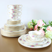 Lenox China Rose J-300 Dinnerware Set
