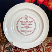 Spode Archive Willow Cranberry Dinner Plate