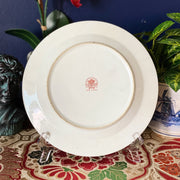 "Vintage 10"" Rose Canton Decorative Plate"