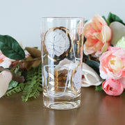 Vintage Juice Glasses - gold