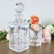 Whiskey Decanter And Glasses Set