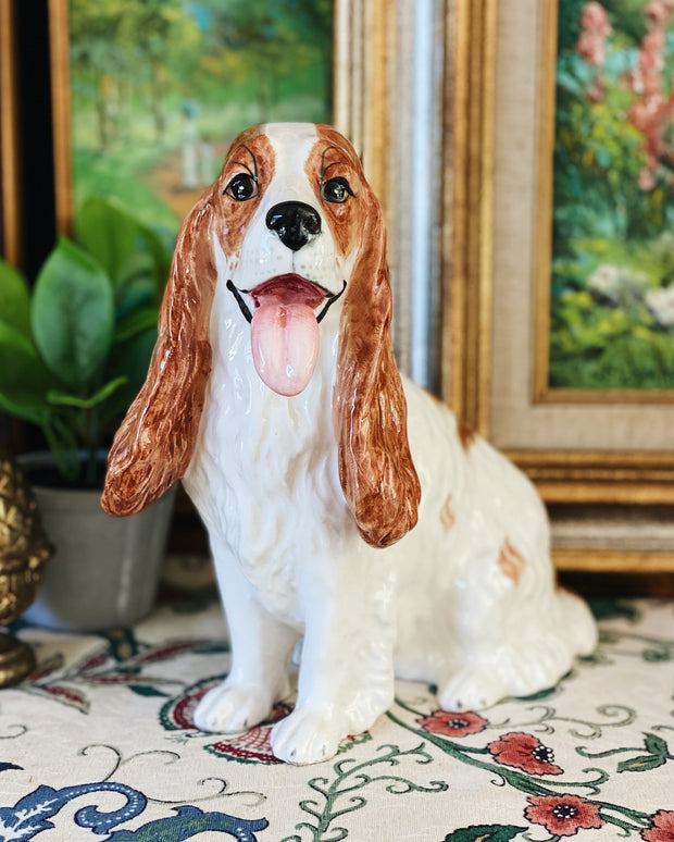 Single English Cocker Spaniel Modern Reproduction