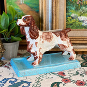Vintage English Springer Spaniel Pen Holder