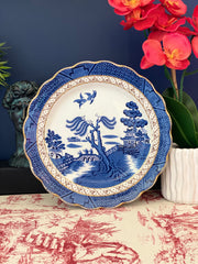 Booth's Real Old Blue Willow Single Dinner Plate