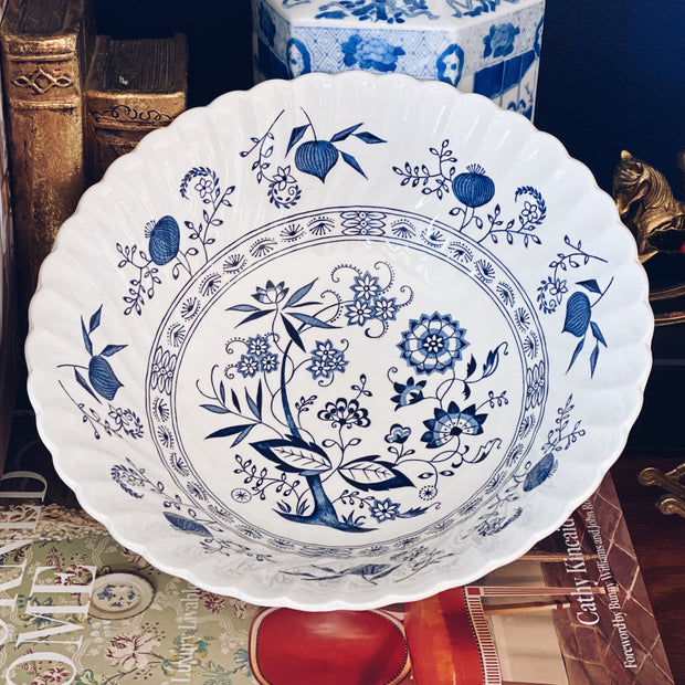 Johnson Brothers Nordic Blue Vegetable Bowl