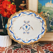 Chelsea House Port Royal Italy Oval Platter