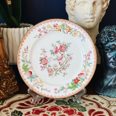 Antique Royal Doulton Floral Salad Plate