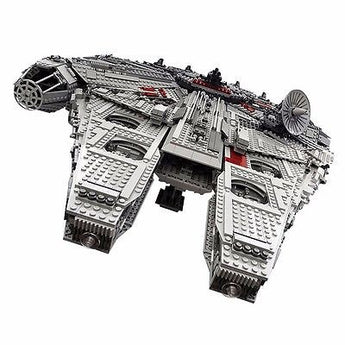 BOX Included!! Lepin 05033 STAR WNRS 5265 pcs UCS MILLENNIUM FALCON UPS SHIP