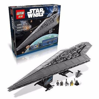 Super Star Destroyer Lepin 05028 STAR WNRS 3208 pcs  not lego 10221 - DHL Shipping