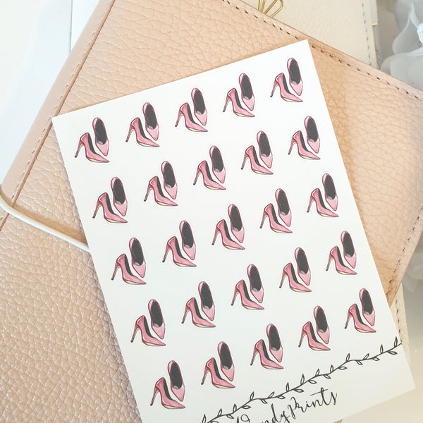 High Heels Icon Sticker, Planner Stickers (W88)