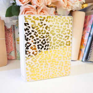 Cheetah, MINI (4 x 6 inches), Sticker Album (A26M)
