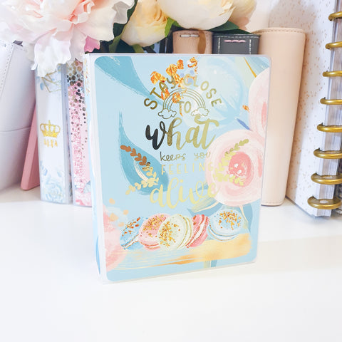 Macarons, MINI (4 x 6 inches) Sticker Album (A29M)