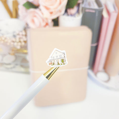 Mortgage House Icon Sticker, Planner Stickers (W128) - WendyPrints