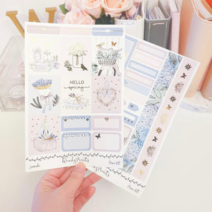 Lavender, Foiled Mini Kit (K85) - WendyPrints