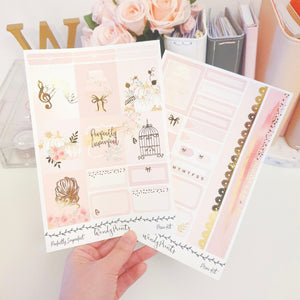 Perfectly Imperfect, Foiled Mini Kit (K84) - WendyPrints