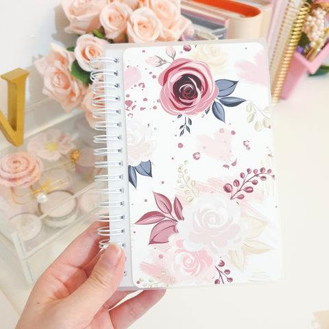 Bloom, SMALL (4x6 inches), Reusable Sticker Book