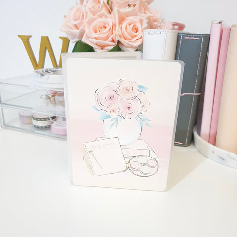 Blush, LARGE (5x7 inches), Sticker Album (A33L)