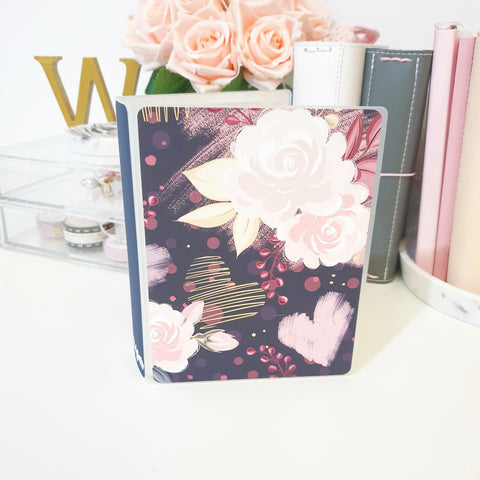 Dark Bloom, LARGE (5x7 inches), Sticker Album (A31L)