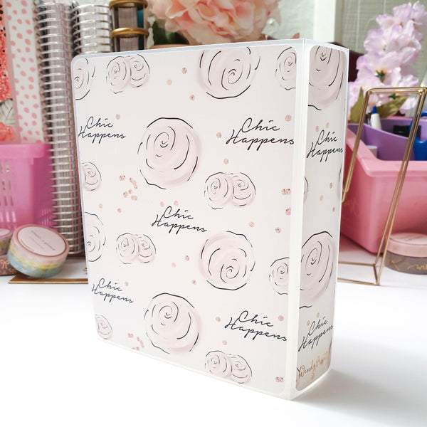 Chic Happens, MINI (4x6 inches) Foiled Sticker Album (A11M) - WendyPrints