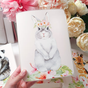Bunny, MINI (4 x 6 inches), Sticker Album (A17M) - WendyPrints