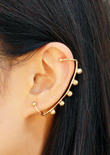 Load image into Gallery viewer, Arco Earring - Gold Ear Climber, Big Ear Crawler - MERCe