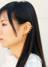 Arco Earring - Gold Ear Climber, Big Ear Crawler - MERCe