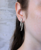 Monaco - Sterling Silver Double Sided Earrings - MERCe