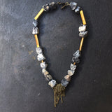 Kadi Jasper Necklace - Big Statement Jasper Necklace - MERCe