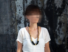 Load image into Gallery viewer, Nabuko Necklace - Bambook and Hawaiian Nut Necklace - MERCe