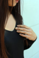 Gold Fingernail Ring - MERCe
