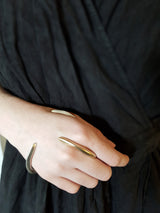 Pak Ring Silver - Avant Garde Between Finger Silver Ring