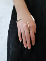 Pak Ring Gold - Avant Garde Between Finger Bronze Ring