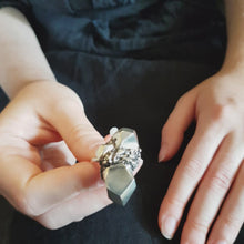 Load and play video in Gallery viewer, Roka Silver Ring - Big Sterling Silver Nugget Ring
