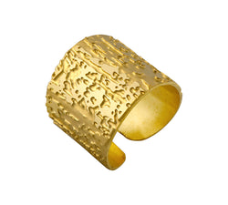 Gold Filled Textured Ring - MERCe