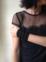 Fabric Bracelet Cuff - MERCe